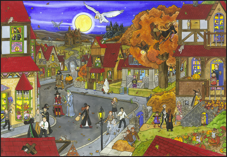 Hogsmeade Halloween