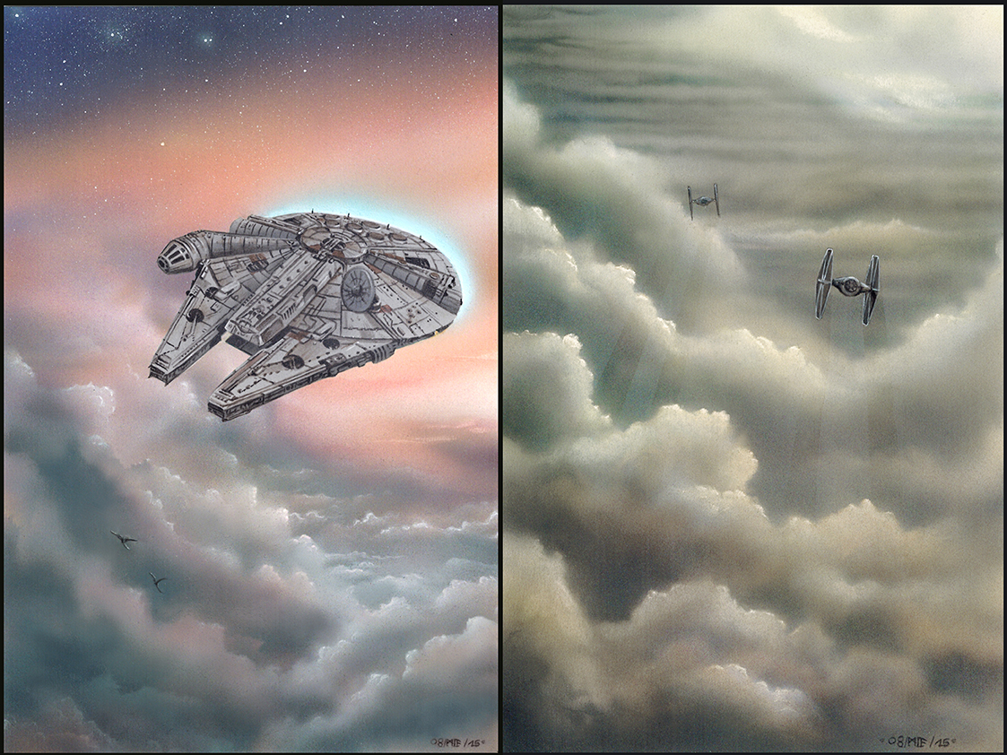 Star Wars Skies